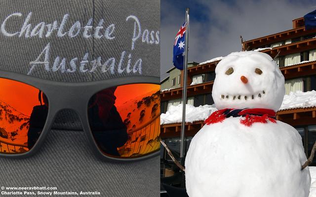 Snowman - Charlotte Pass