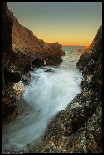 sunset nikond50 dri rockybeach justinsmith marbleheadma nikon1735mmf28