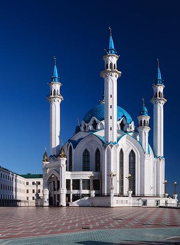 landscape geotagged russia mosque 2009 panoram kazan qolsarif nikond300 tatrstan qolşärifmosque tokinaaf288028