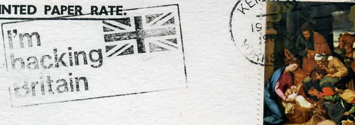 I'm backing Britain  Postmark,  1968