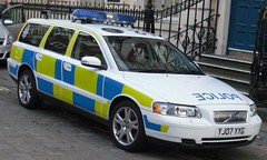 automobile, automotive exterior, vehicle, police, police car, volvo v70, volvo cars, vehicle registration plate,