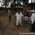 Playing Croquet With the Boys - Tarija, Bolivia