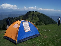 Camp at Mukshpuri Top