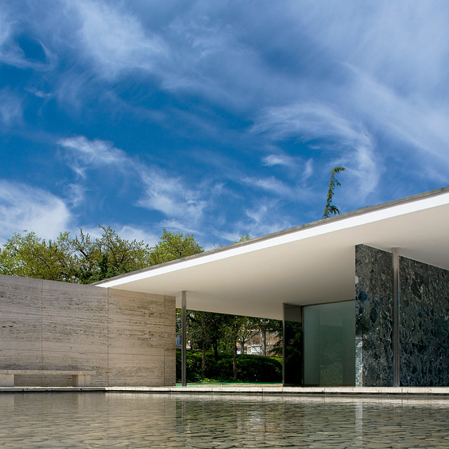 Funda o mies van der rohe barcelona espanha flickr photo sharing - Fondation mies van der rohe ...