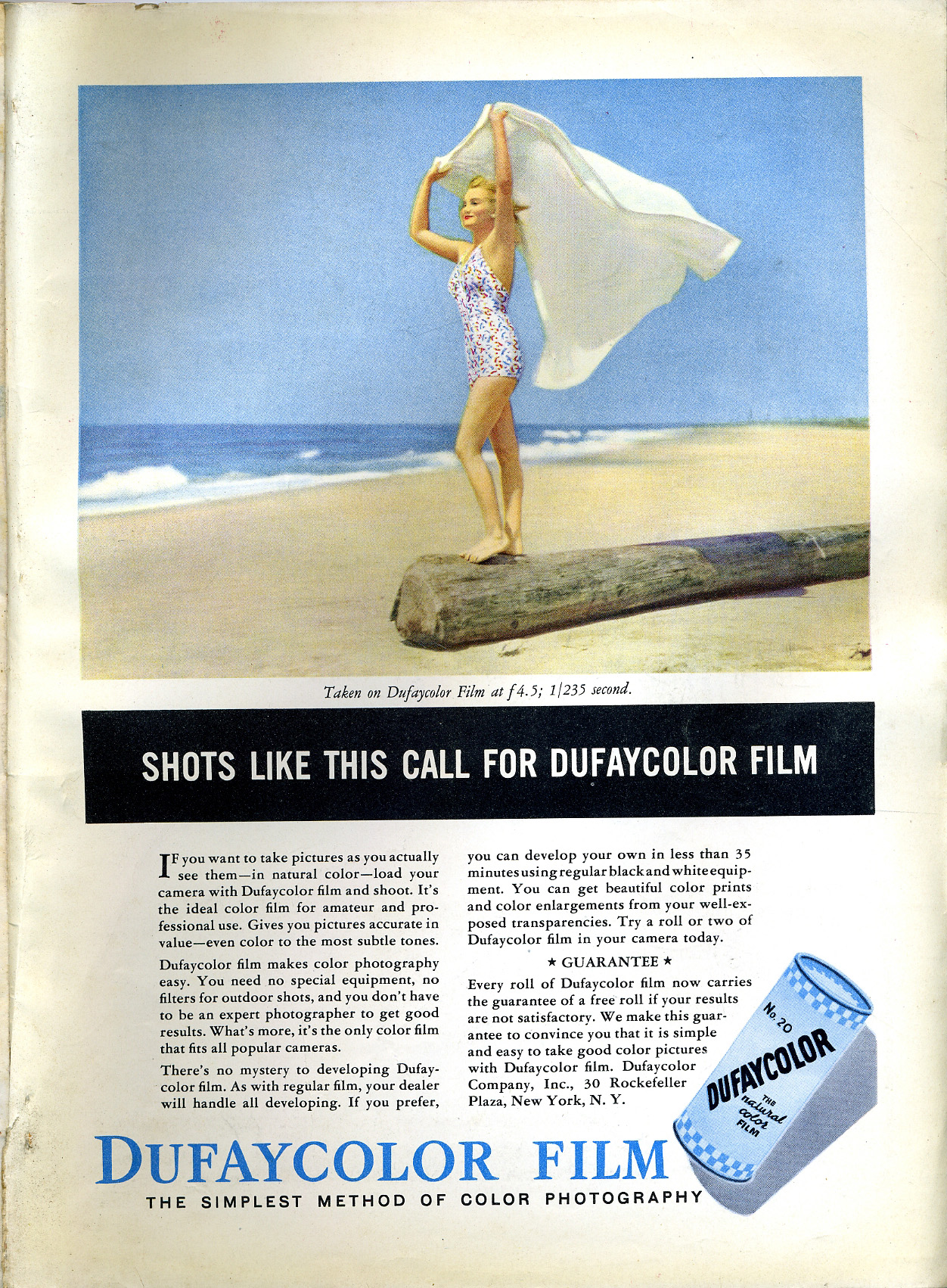 dufaycolor magazine advertisment