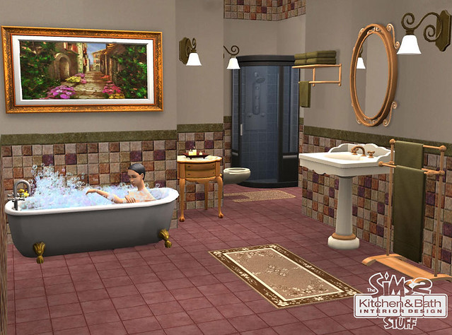 The Sims 2 Kitchen Bath Interior Design Stuff Pc Flickr Photo Sharing