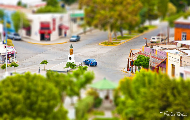 Intento de Tilt-shift