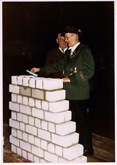 Oktober 1970, Grundsteinlegung Schützenhalle, SW114