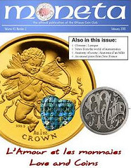 Ottowa Coin Club journal Moneta