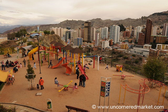 Park and High-Rise - La Paz, Bolivia