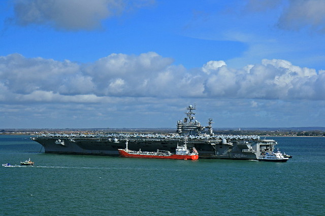 """Aircraft Carrier 71 """"USS Theodore Roosevelt (CVN-71)"""" - a ..."""