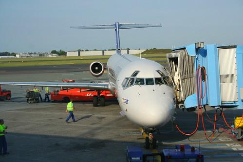 Scandinavian Airlines - SAS, McDonnell Douglas MD-81 (DC-9-81), SE-DIL Tord Viking (cn 49913/1665)