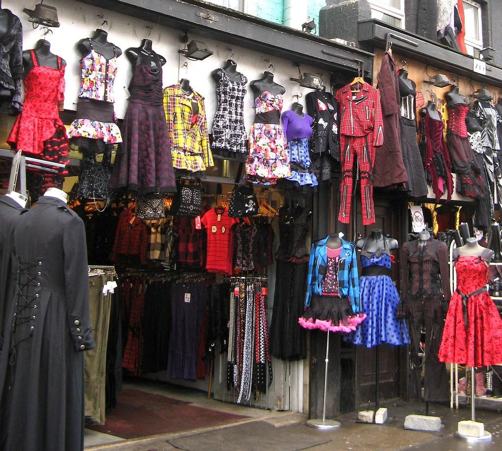 Camden High Street Vintage and Alternative Fashion Shop London