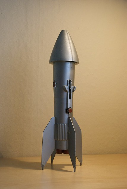 Rocket bank flickr photo sharing - Rocket ship piggy bank ...