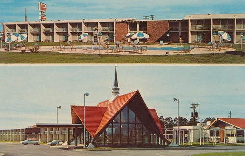 The slow decline of the pie shops motel monday the for Johnson motor company of south carolina