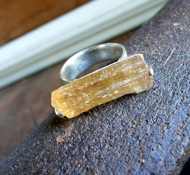 raw imperial topaz ring a photo on flickriver
