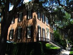 Abercorn Street and Jones Street, Savannah, Georgia