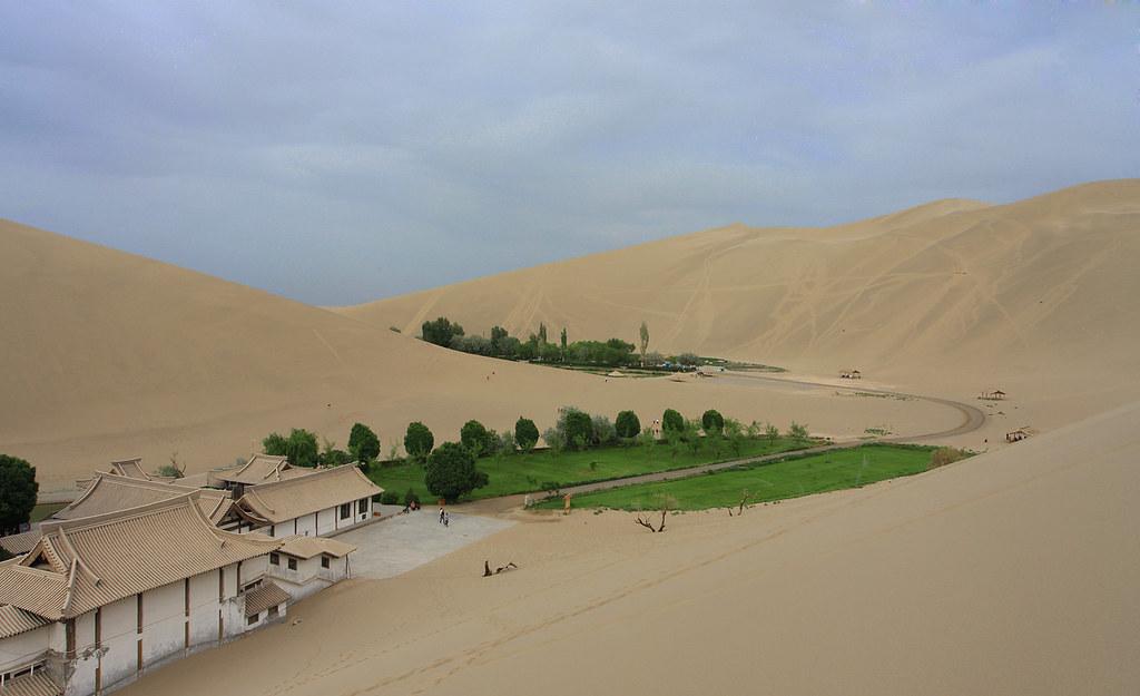 034 - Crescent Moon Lake, Mingsha, Dunhuang