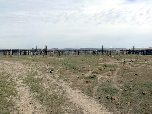 20090830 32 Cattle Stockade near Arminto, WY
