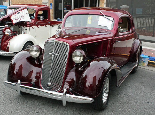 1935 Chevrolet Master Deluxe Coupe Street Rod 1 Of 5