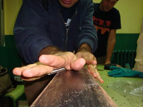 Reparación de material