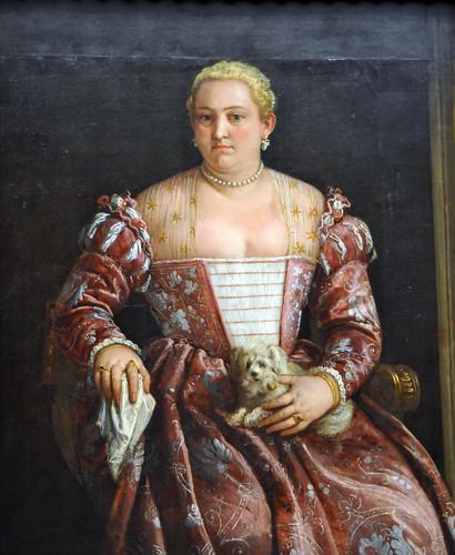 Portrait of a WomanFrancesco Montemezzano (Italian, Venetian, born about 1540, died after 1602) . MET, NYC