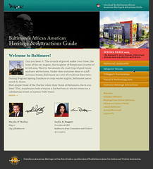 Baltimore's African American Heritage Landing Page ()