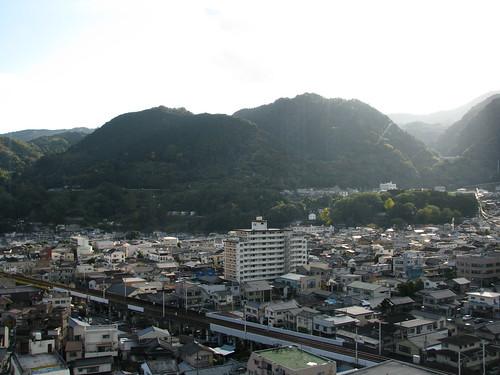 city panorama mountain japan montagne hotel town 日本 山 japon ville hôtel beppu パノラマ 別府 都市 kamenoi 亀の井ホテル