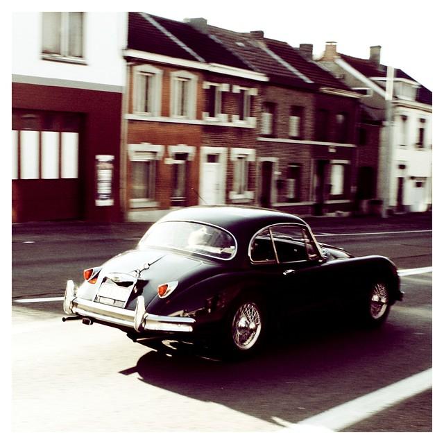 Vintage look Jag