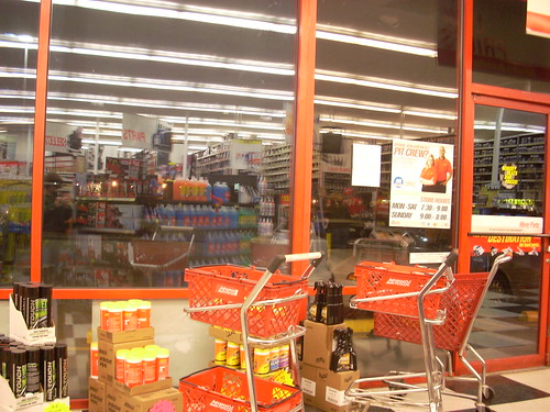 Advance Auto Parts interior