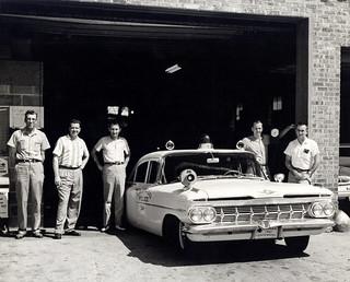 1959 Chev Leawood Kansas Police Car