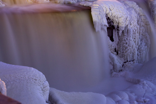 Rideau Falls in Winter
