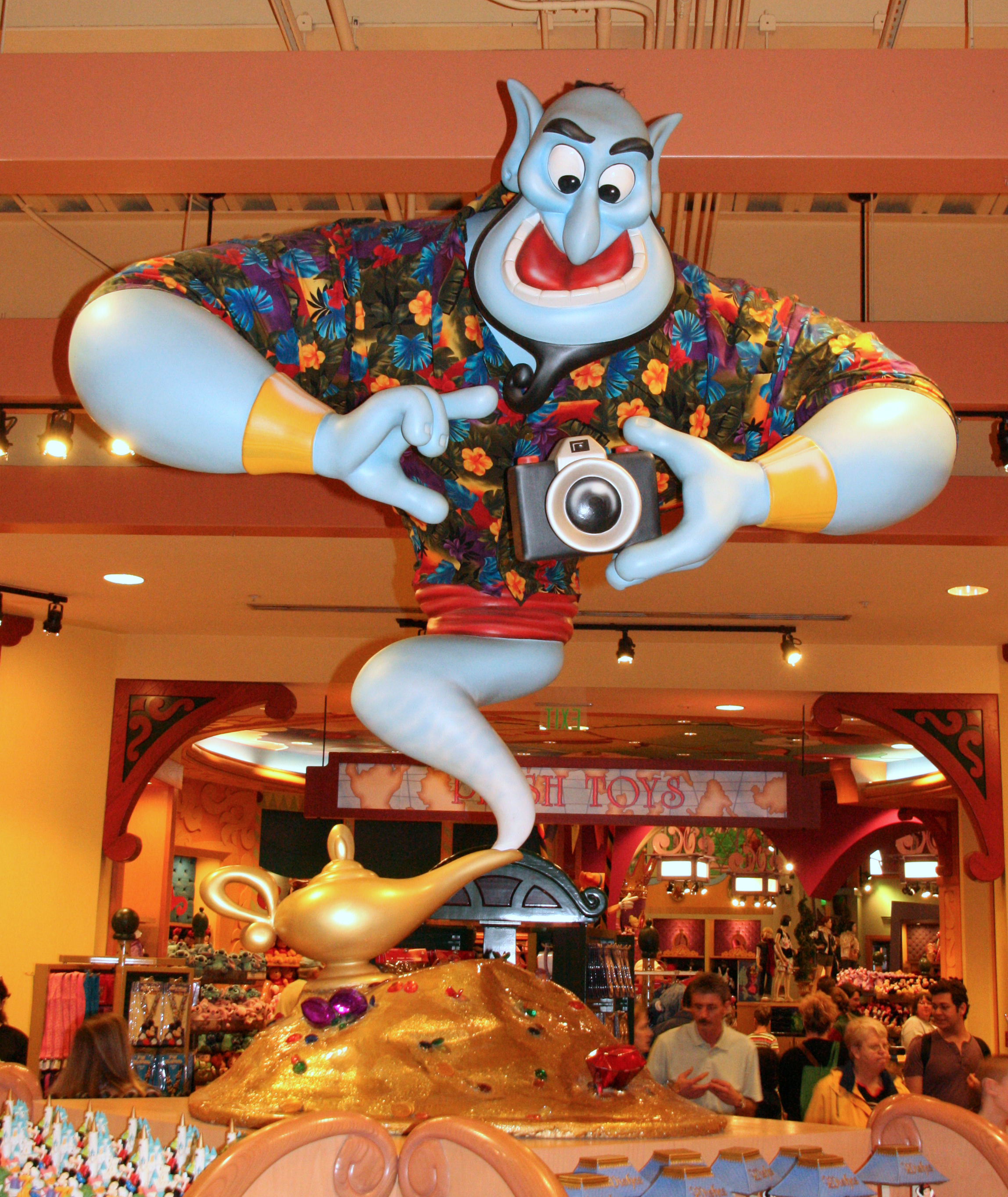 downtown disney haircut downtown disney world of disney genie from alladin 4957