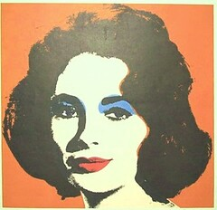 Andy Warhol Liz in the Ken C. Arnold Art Collection