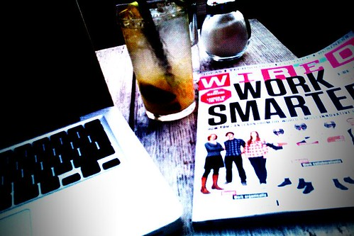 Wired, laptop, lemonade. What more to ask for?