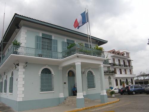 embajada francia, panama