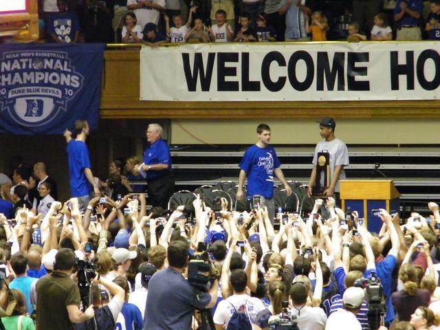 Duke university ncaa men s basketball championship celebra flickr