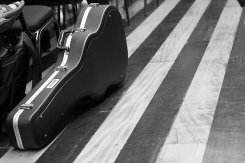 música, en la calle,