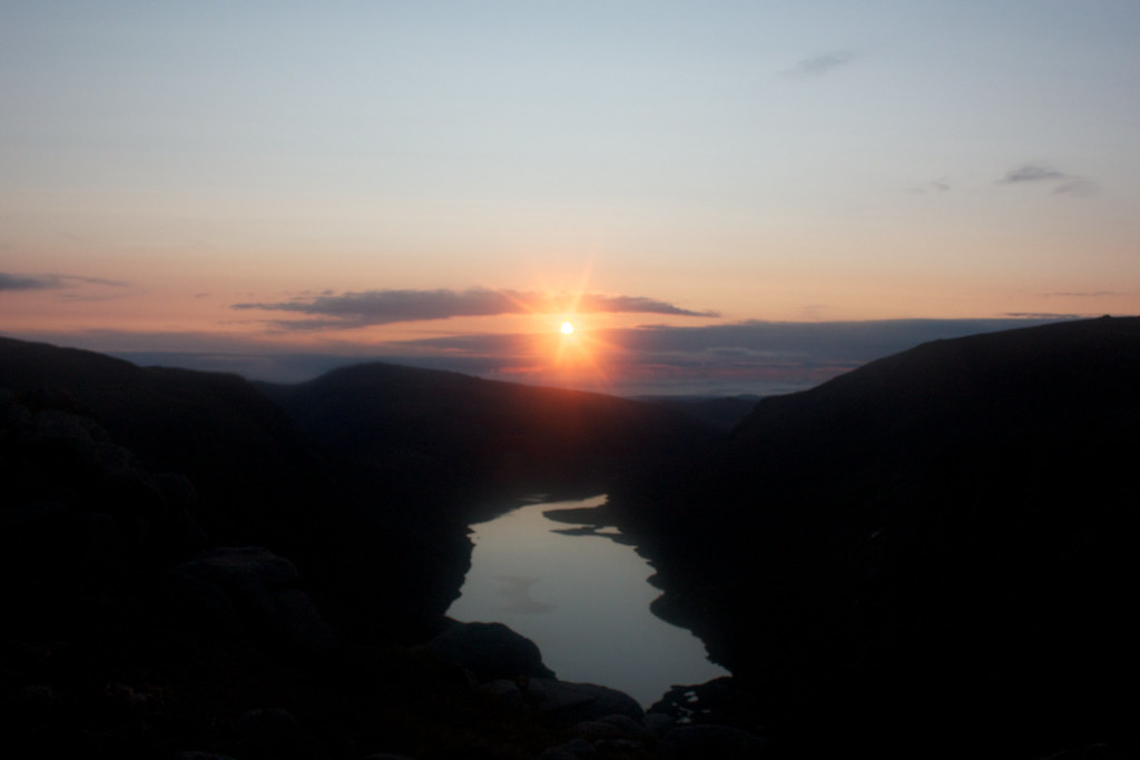 Sunrise over Loch Avon