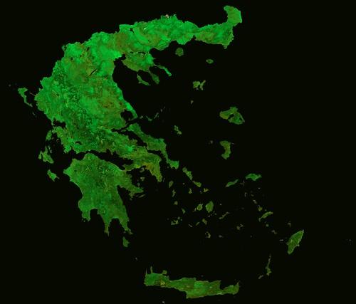 Greece by Proba-V