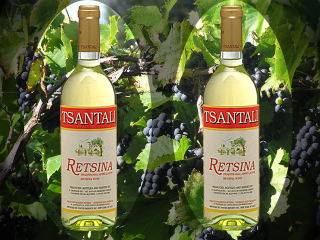 GREEK WINES - RETSINA