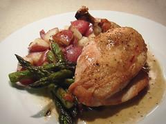 veal(0.0), pork chop(0.0), produce(0.0), meal(1.0), dinner(1.0), lunch(1.0), breakfast(1.0), vegetable(1.0), roasting(1.0), meat(1.0), food(1.0), dish(1.0), cuisine(1.0), cooking(1.0),
