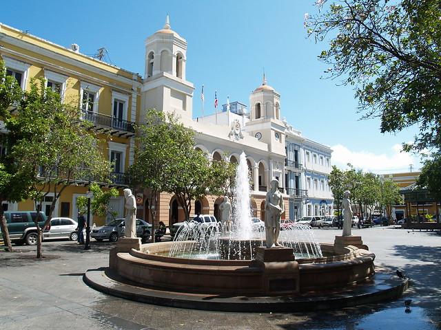 Plaza De Armas San Juan Pr