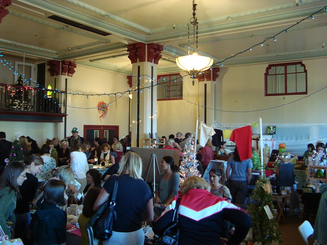 Petaluma Craft Fair  At Community Center