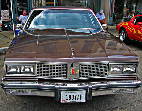 84 Oldsmobile 98 Regency http://www.flickr.com/photos/sotlcc/4246038449/