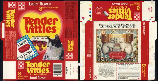 Tender Cat Food