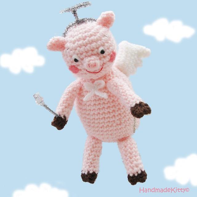 Flying Angel Pig Amigurumi Crochet Pattern : Flying Angel Pig Amigurumi Crochet Pattern  Flickr ...