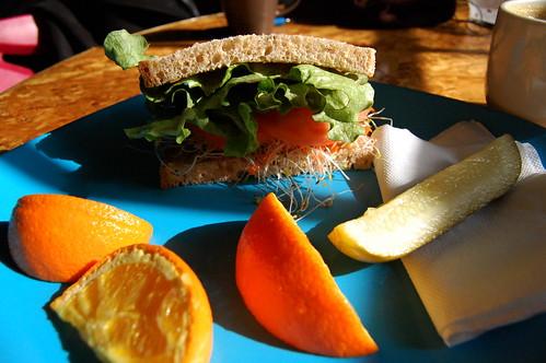 Front Street sandwich