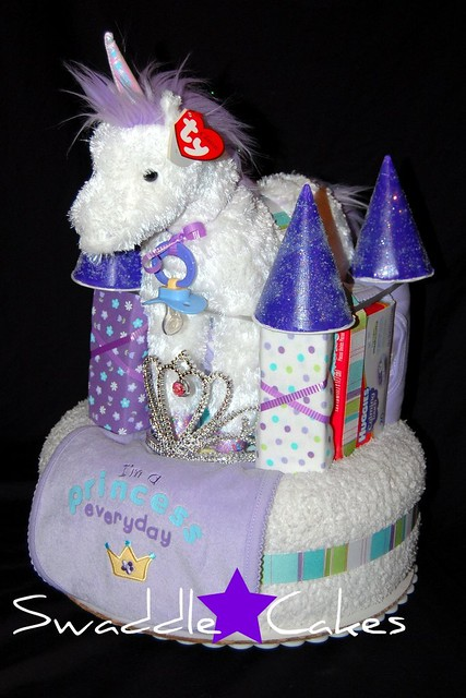 Diaper Cake Castle A Gallery On Flickr