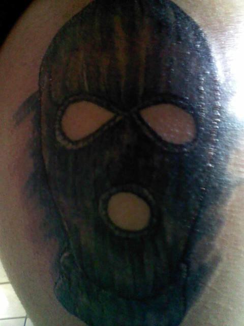 Photo for Ski mask tattoo